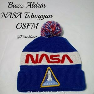❗2/$20❗ NASA Buzz Aldrin Toboggan OSFM